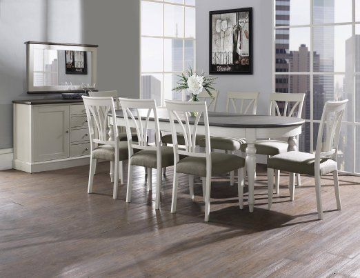 Coastlink Vegas Extension Dining Set  Heritage Slat Chairs Set Fascinating 9 Pcs Dining Room Set Decorating Design