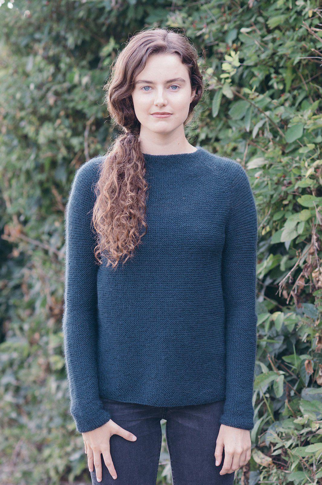 терракотовый свитер схема