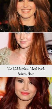 25 Celebrities That Rock Auburn Hair #BeautyBlog #MakeupOfTheDay #MakeupByMe #Ma…, #Auburn…
