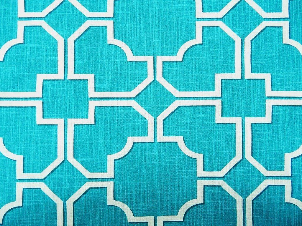Sale 100/% Cotton Canvas Upholstery Curtain Fabric Denim Colour Hexagons