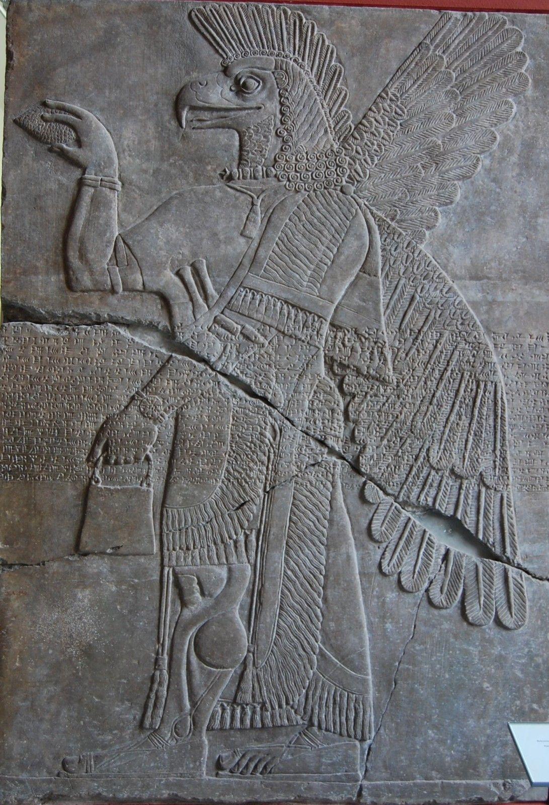 nimrud palais bas relief cosmosu ancient art ancient. Black Bedroom Furniture Sets. Home Design Ideas