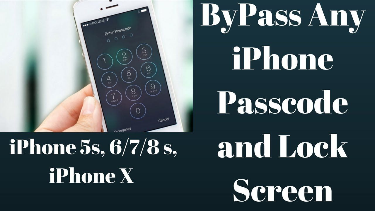 How To Unlock iPhone Lock Screen Bypass Any iPhone