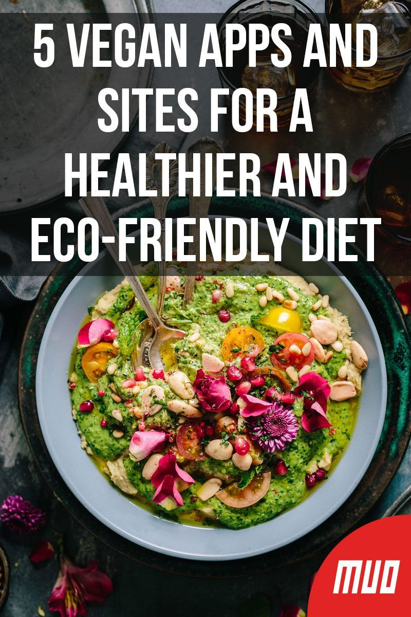 5 Vegan Apps And Sites For A Healthier And Eco Friendly Diet Vegan Apps Healthy Mindful Eating