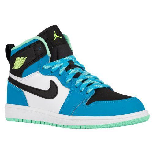 Jordan AJ 1 High - Boys' Preschool | Kids shoes, Shoes, Sneakers