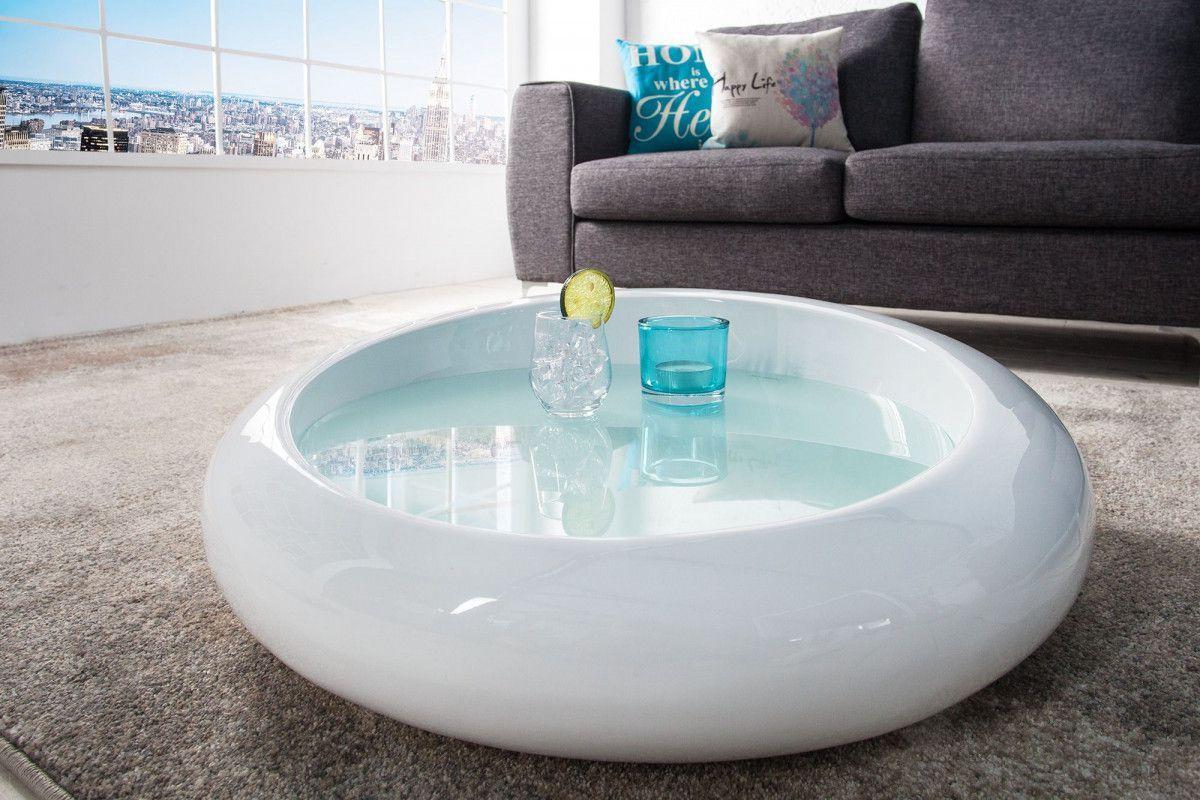 table basse design en fibre de verre o