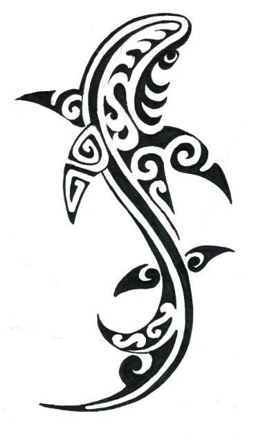 100 Desenhos Tribais Desenhos Tribais Tatuagens De Tubarao