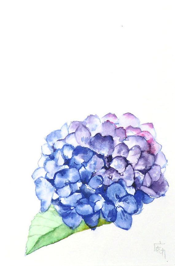 Etsy の Hydrangea by ManamiTakamatsu