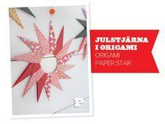 Make Origami Paper Star, Pysselbolaget.