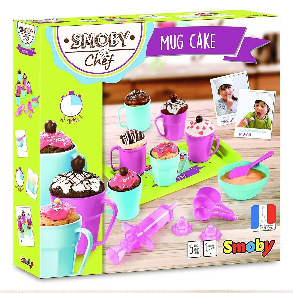 Smoby Chef Mug Cakes Craft Kits For Kids Mug Cake Gifts For Kids