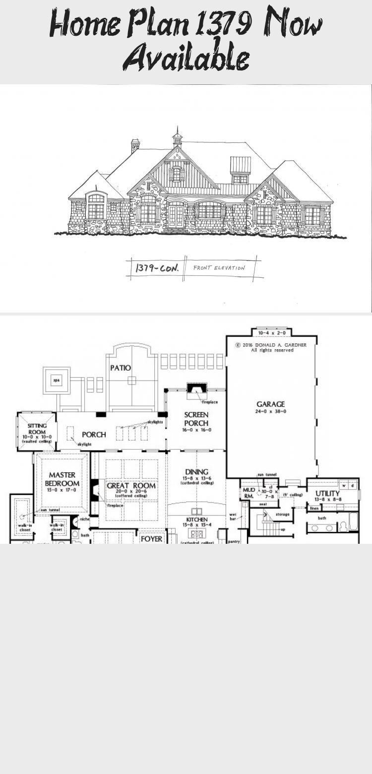Home Plan 1379 Now Available Don Gardner House Plans Floorplansranchbonusrooms Floorplansranch1200sqft Floor Plans Ranch House Plans Ranch House Plans