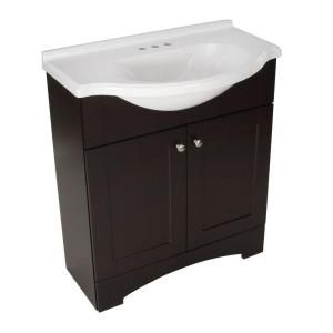 St Paul Del Mar 30 In W Vanity With Ab Engineered Composite Top