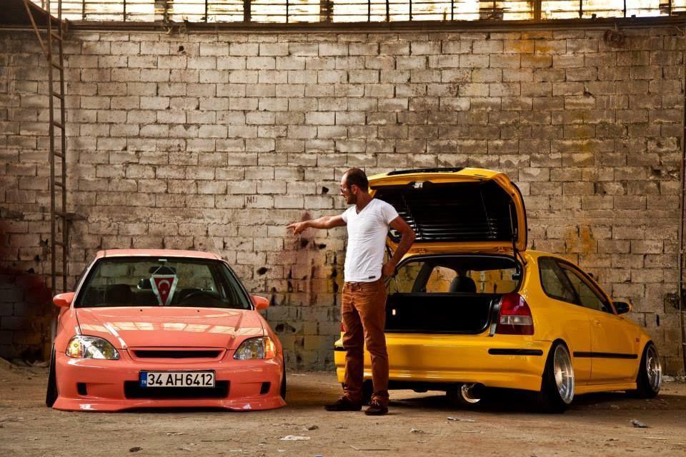 Honda Civic Ek Hatch Spongebob Patrick Slammed Stance Honda Hatchback Honda Civic Hatchback Honda Civic
