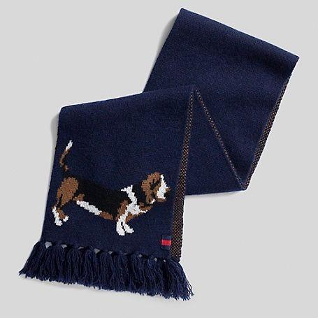 b27cfe6ffc010 Tommy Hilfiger Basset Hound scarf - LOVE!!! | Basset Hound Love ...