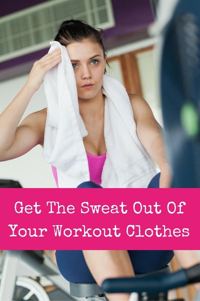 how to get sweat smell out of gym clothes