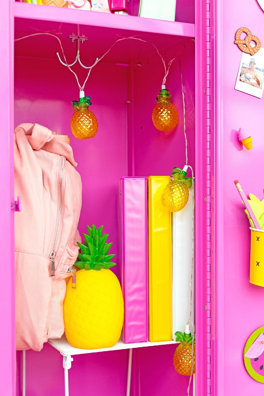 Décoration Pour Casier D École colorful diy locker decoration ideas | casiers scolaires
