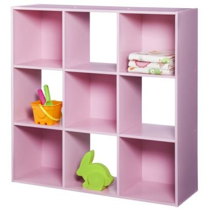Circo 9 Cube Organizer Fun Pink Perfect For Sofieu0027s Room