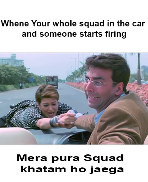 Not So If U Hve The Bullet Proof Uaz Go Check On The Latest Update Of Pubg Mobile Follow Us For F Some Funny Jokes Birthday Meme Birthday Present For Boyfriend