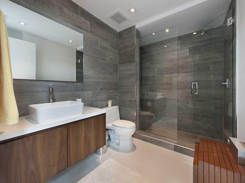 Modern Master Bathroom With Frameless Shower And Vessel Sink I G Is9x79hzxp Modern Master Bathroom Modern Master Bathroom Remodel Modern Master Bathroom Design