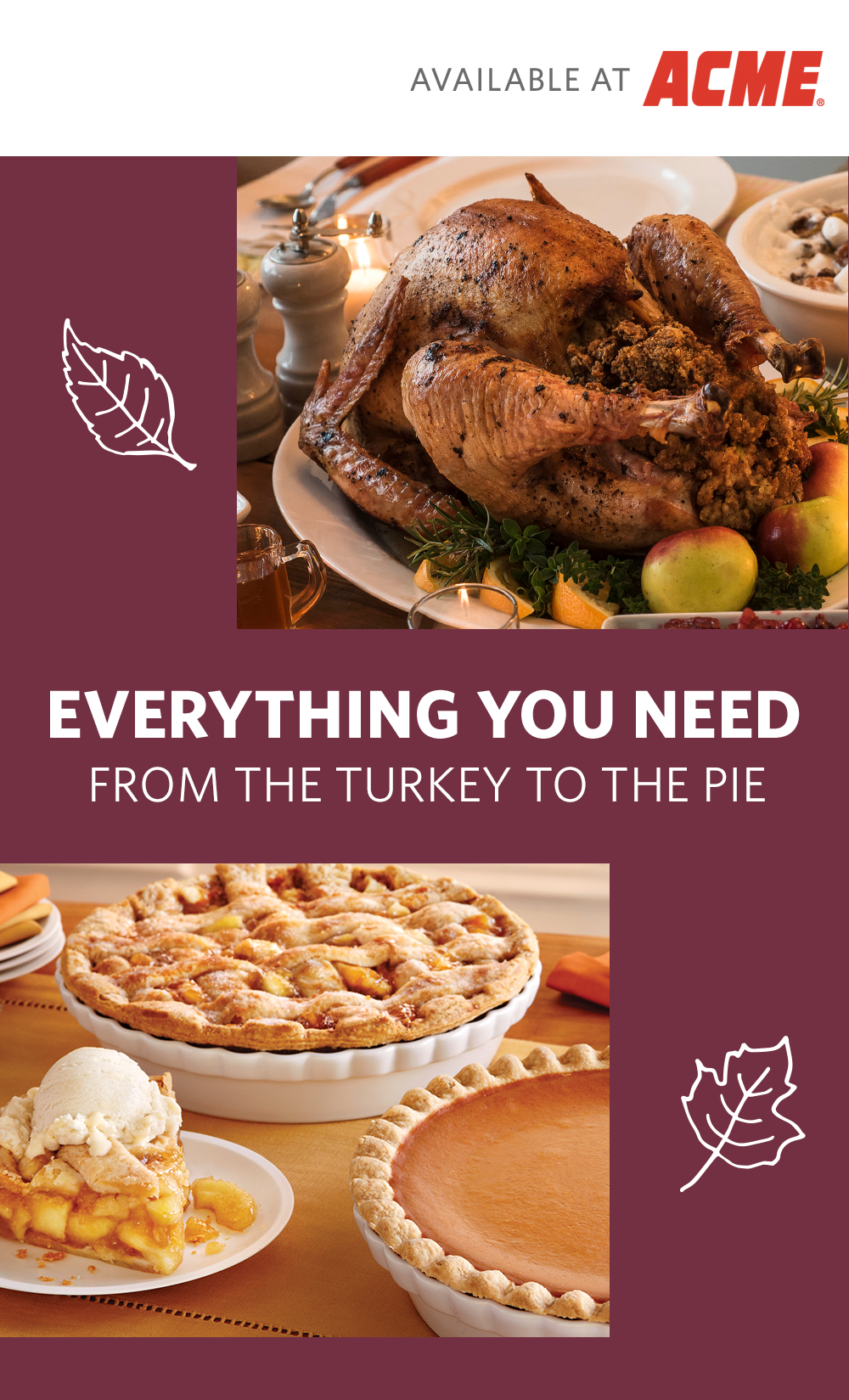 Its Not Thanksgiving Without Turkey And Pumpkin Pie Shop For