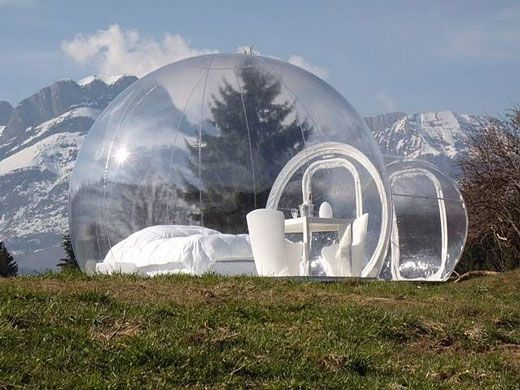 1deba1cc4a3 Bizarre Transparent Bubble Tent Hotel Design | Tent Envy | Bubble ...
