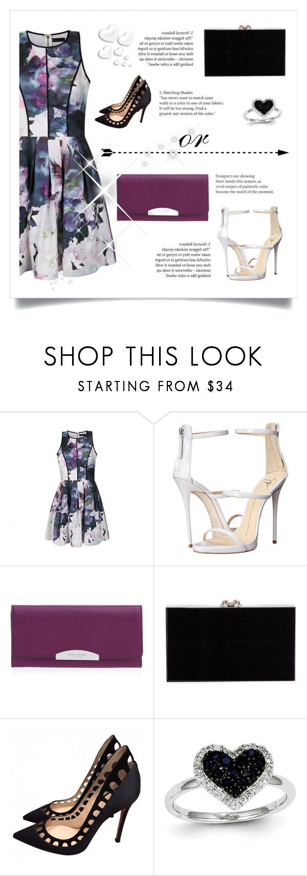 """LOOK AT THE SUN! FINALLY!"" by paradiselemonade ❤ liked on Polyvore featuring moda, Ally Fashion, Giuseppe Zanotti, Henri Bendel, Charlotte Olympia, Gianvito Rossi, Kevin Jewelers i Valentino"