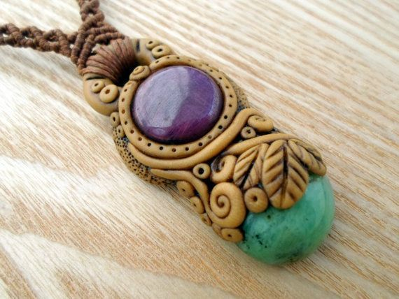 setting stones in polymer clay - Google Search | Diy Air Dry Clay ...
