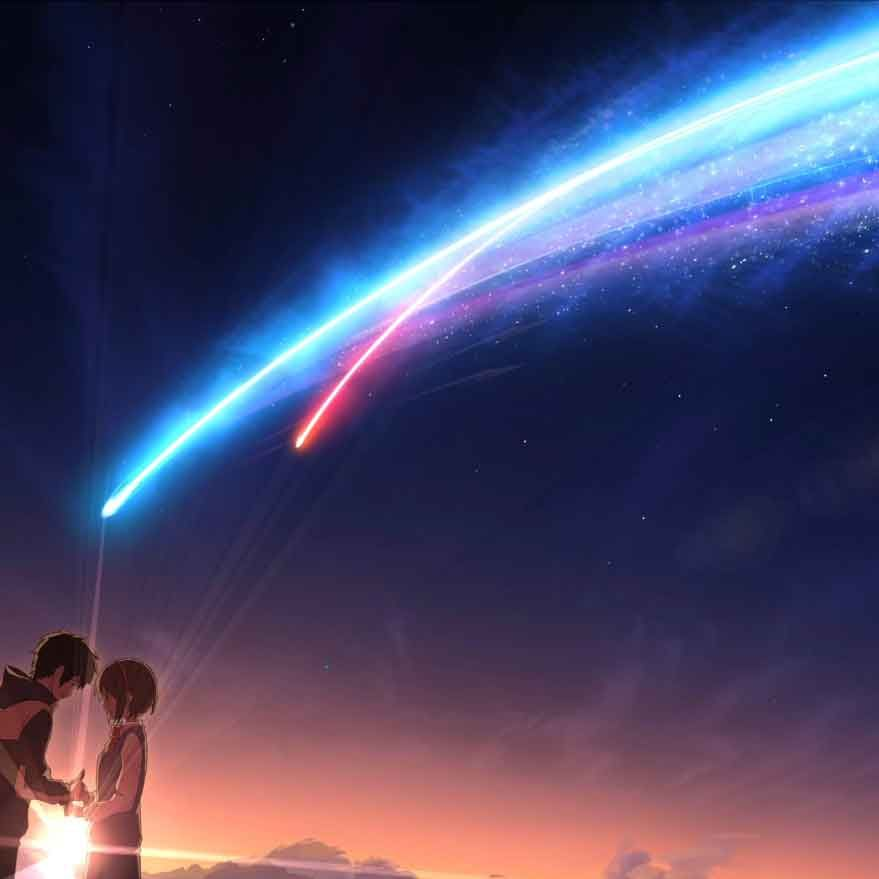 [4K 60FPS] Kimi no Na wa (Your Name) Live Wallpaper Engine v2.4.2 | ANIME | Wallpaper Engine ...