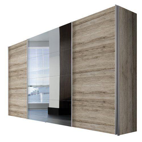 Brayden Studio Gengler Sliding Door Wardrobe Sliding Doors Interior Design Principles Furniture Design