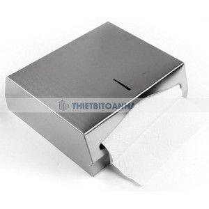 Hộp đựng giấy lau tay treo tường - Chất liệu inox hoặc nhựa - Ứng dụng : dùng cho nhà vệ sinh phòng tắm khách sạn hay nhà hàng, sân bay, công cộng,..