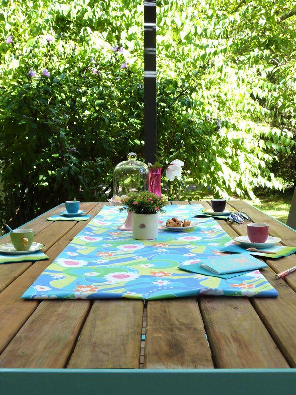 Table de jardin avec bois de récup Soudure  Turbulences - Faire Une Terrasse En Beton Cire