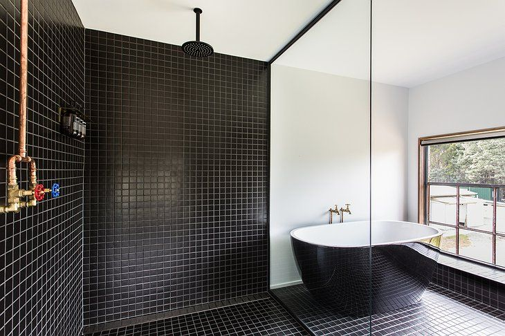 pumphouse point bathroom | industrial hotels | pinterest | bathroom
