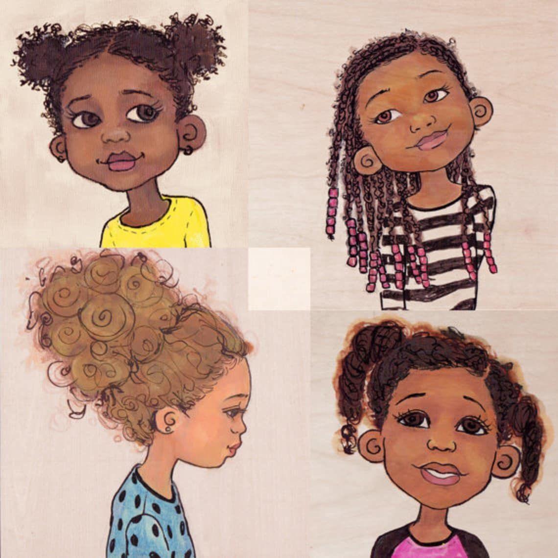 Dear Little Black Girl Drawings Of Black Girls Girl Drawing Cartoon Girl Drawing