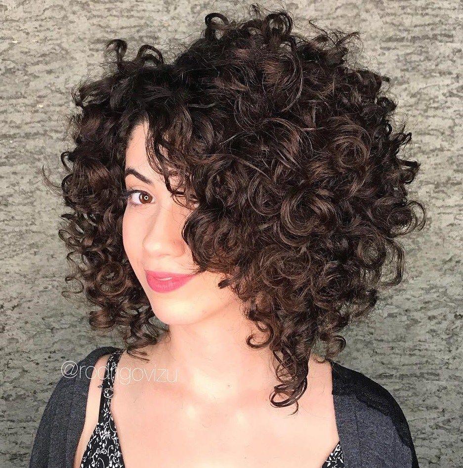 43+ Asymmetrical curly bob hairstyles information