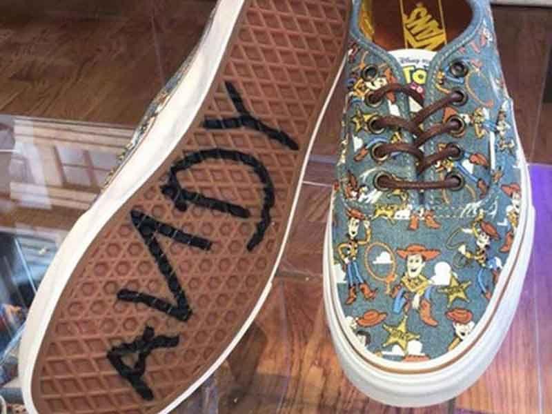 Vans Toy Story Slip On plata