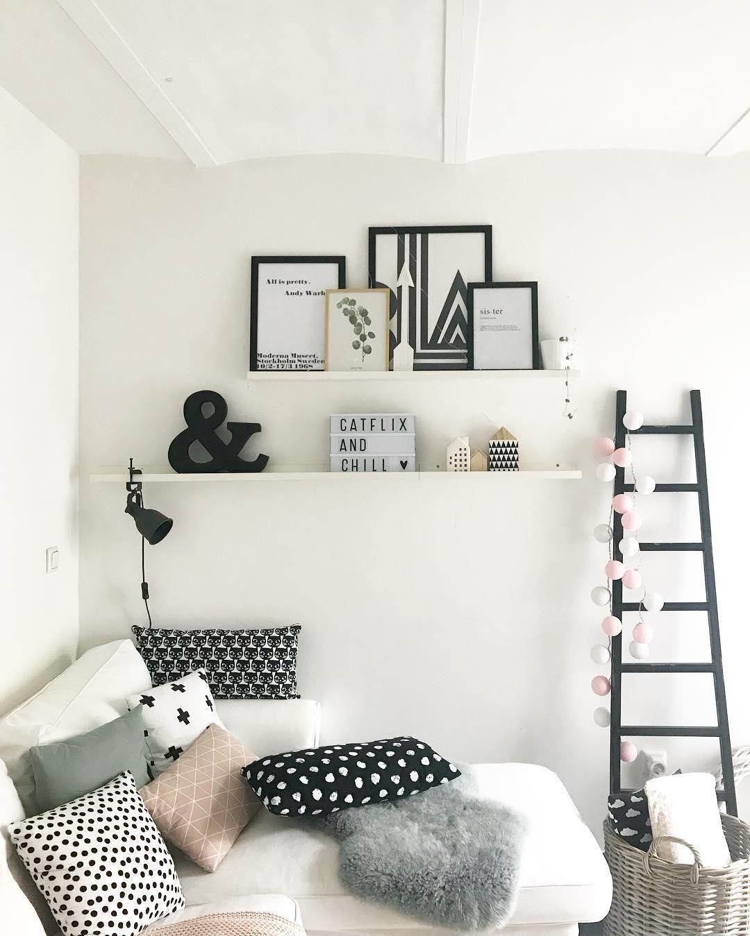 Scandi Love In Diesem Wunderschönen Wohnzimmer Kann Man Sich Nur