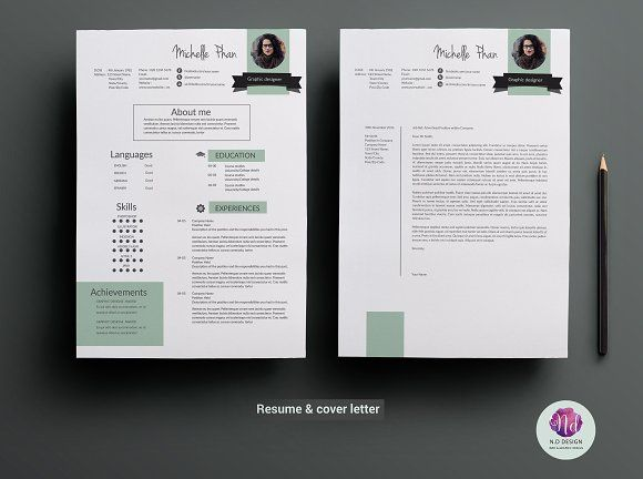 Resume template by Chic templates on @mywpthemes_xyz Best Resume
