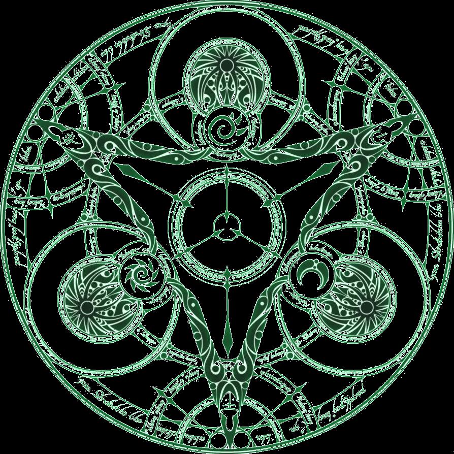Reina S Magic Circle By Kyokoofmirrors On Deviantart Magic Circle Magic Symbols Alchemy Symbols