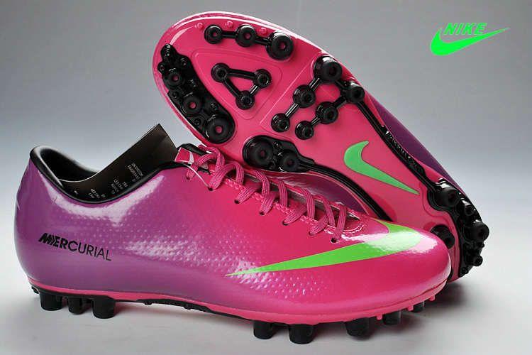 Nike Mercurial Vapor Ix Ag Boot Purple Pink Green Black Futbol Deportes Favoritos