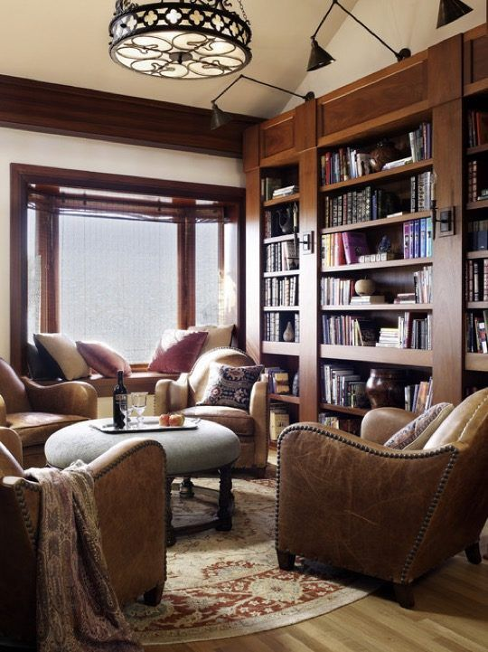 20 Wonderful Home Library Ideas Home Library Rooms Home Library