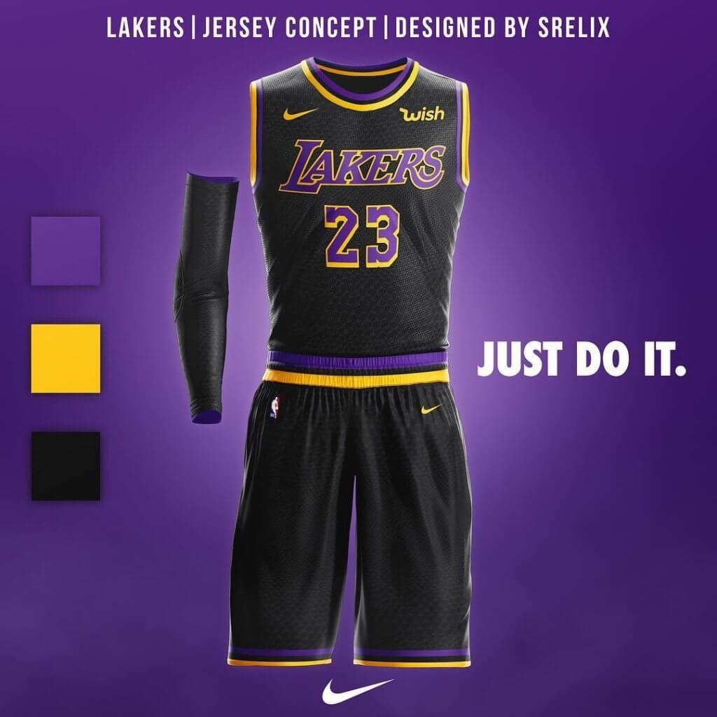 Lakers Basketball Uniforms Design Sports Jersey Design Nba Uniforms