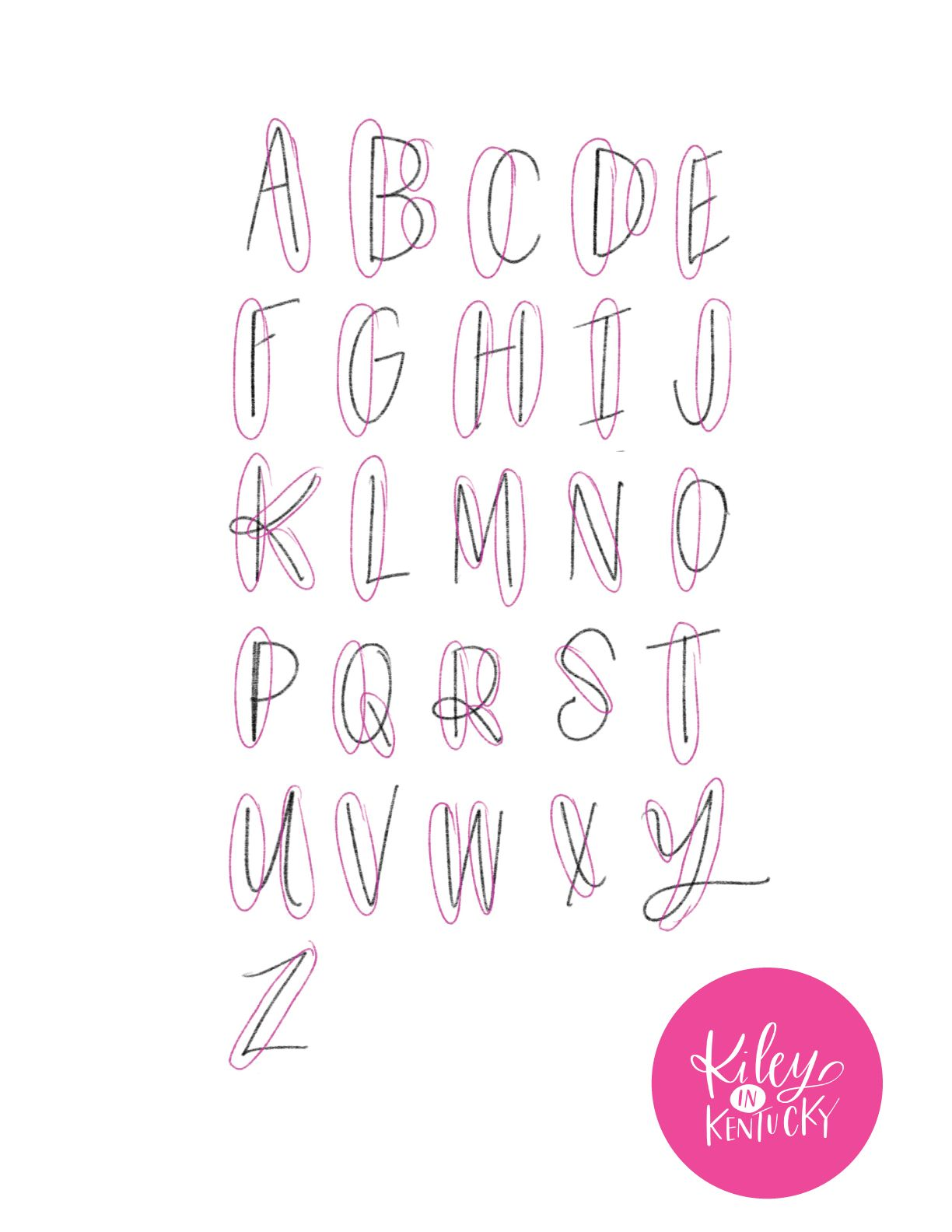 My top handlettering tips for beginners doodle fonts and crafts