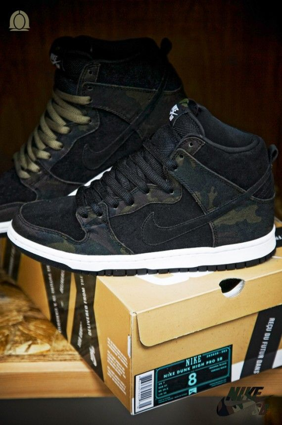 best authentic e3150 5f94e Nike SB Dunk High Pro - Iguana Camo - SneakerNews.com | Dope kicks ...