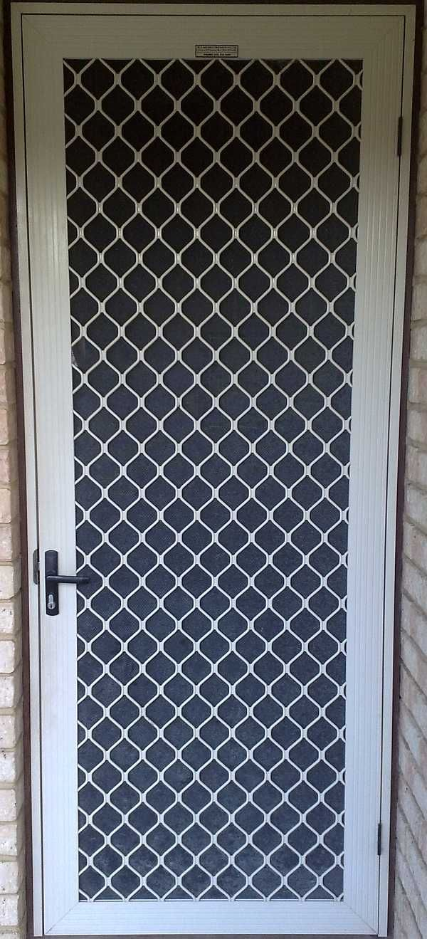 Security Screen Doors Security Screen Door I Love This Doors In