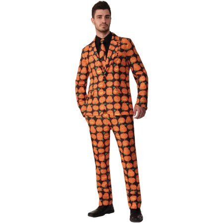 Free Shipping Buy Pumpkin Suit Adult Halloween Costume at Walmart