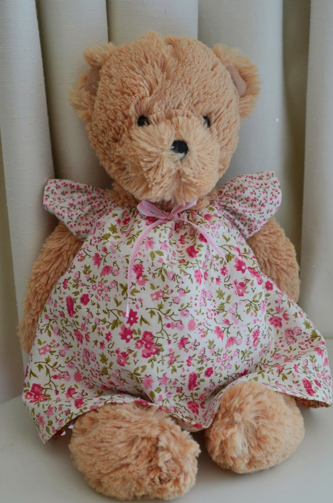 The Bears Four: Flutter Sleeve Dress Tutorial and Free Pattern ...