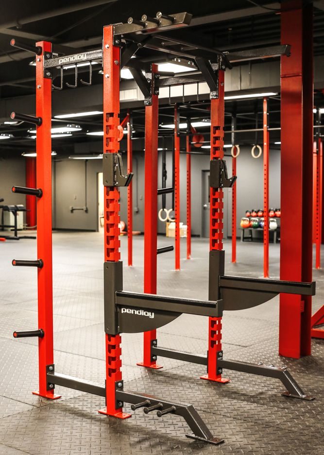 Pendlay Elite Half Rack System In Lime Green Only If Rogue Fitness Is Slow  On Their Green Racks.