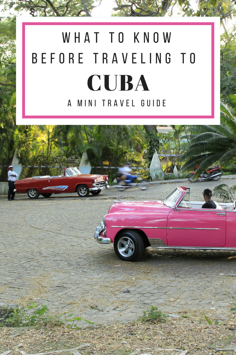 Visiting #Cuba is like no other paradise. Since there are often limitations, there are many ways in which you should prepare ahead to make the most of your trip. Skim this Cuba travel guide on where to go, what to bring, and what you should expect as you gear up to cruise in a vintage mobile and drink authentic mojitos.  #travelCuba #whattoseeCuba