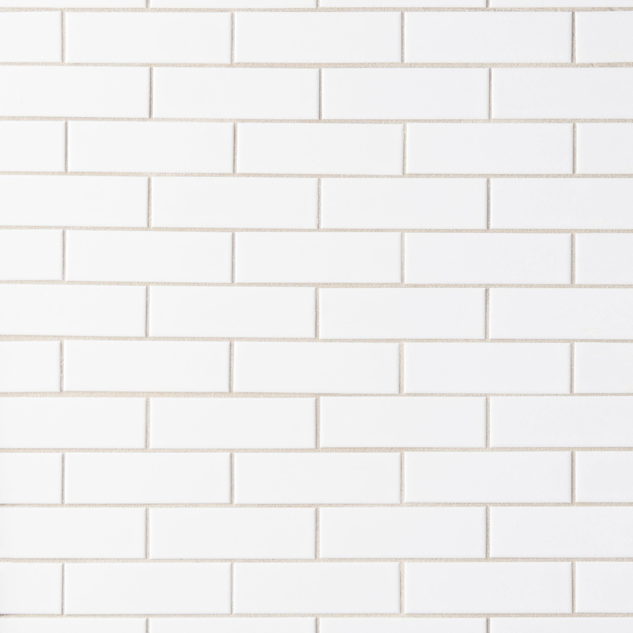 White Brick Ceramic Mosaic Floor Decor White Brick Tiles White Brick White Mosaic Tiles