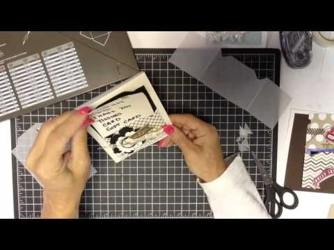 Gift Card Holder with Envelope Punch Board