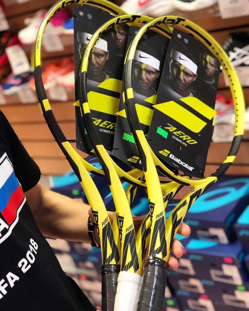 Babolat Pure Aero 2019 Racquet Rafael Nadal Ne W Tennis Racket Tennis Racket Design Tennis Racket Fashion Tennis R Racquets Tennis Racket Tennis Racquets